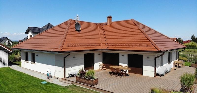 Pisarzowice - dom z projektu Grenada - budowa koło Wrocławia