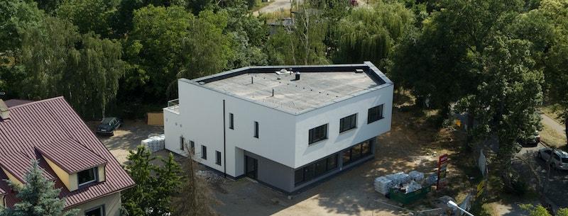 Budowa domu jednorodzinnego we Wrocławiu - ukończony budynek przy ul Ożynowej