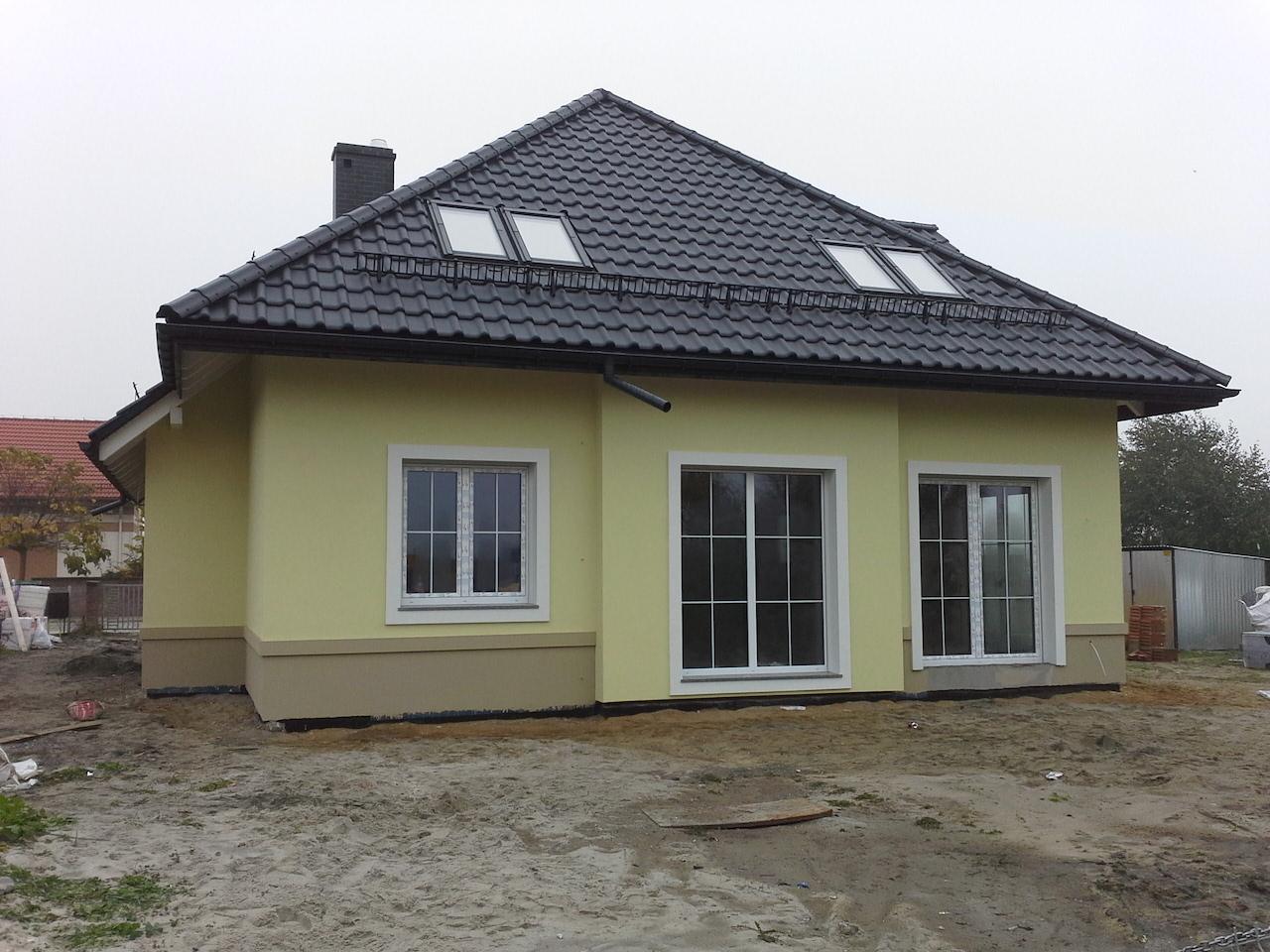 Budowa domu jednorodzinnego wolnostojącego w Krzykowie